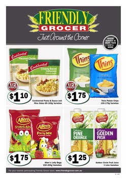 Supermarkets specials in the Friendly Grocer catalogue ( 1 day ago)