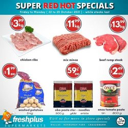 Fresh Plus Supermarkets specials in the Fresh Plus Supermarkets catalogue ( Expires today)