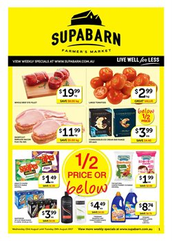 Offers from Supabarn in the Sydney NSW catalogue