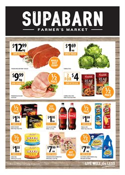 Offers from Supabarn in the Canberra ACT catalogue
