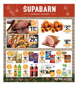Offers from Supabarn in the Belconnen ACT catalogue