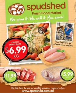 Offers from Spudshed in the Baldivis WA catalogue