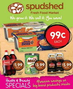 Offers from Spudshed in the Perth WA catalogue