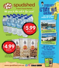 Spudshed specials in the Spudshed catalogue ( Expired)