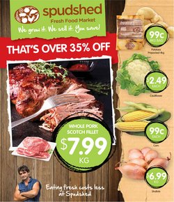 Supermarkets specials in the Spudshed catalogue ( Expires tomorrow)