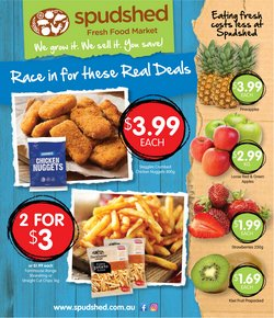 Spudshed specials in the Spudshed catalogue ( Expires tomorrow)