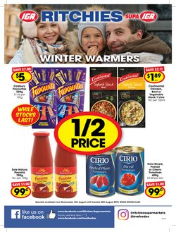Offers from Ritchies in the Frankston VIC catalogue
