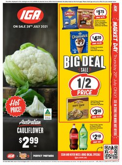 Supermarkets specials in the Ritchies catalogue ( 4 days left)