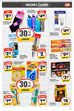 Bic specials in the Ritchies catalogue ( Expires today)