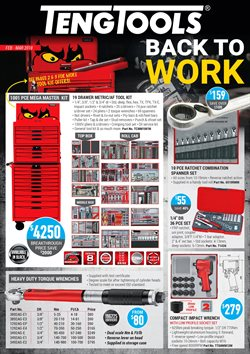 Garden, Tools & Hardware offers in the Teng Tools catalogue in Kingaroy QLD
