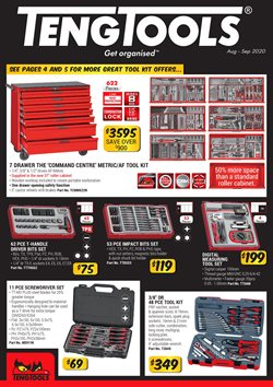 Teng Tools catalogue ( More than one month )