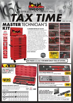 DIY & Garden specials in the Teng Tools catalogue ( More than one month)