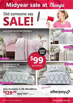 Thingz specials in the Thingz catalogue ( Expires today)