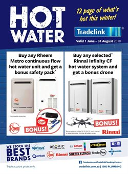 Offers from Tradelink in the Mandurah WA catalogue