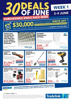 Tradelink In Sydney Catalogues Sale Weekly