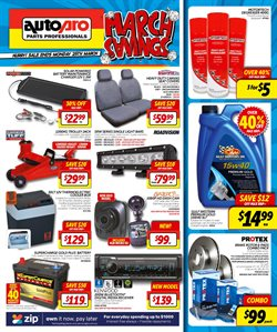 Offers from Autopro in the Perth WA catalogue