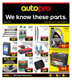 Cars, Motorcycles & Spares specials in the Autopro catalogue ( 7 days left)
