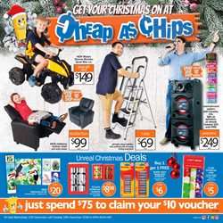 Offers from Cheap as Chips in the Clare SA catalogue