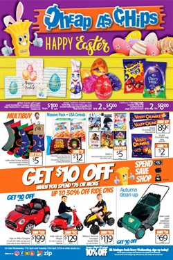 Department Stores offers in the Cheap as Chips catalogue in Clare SA