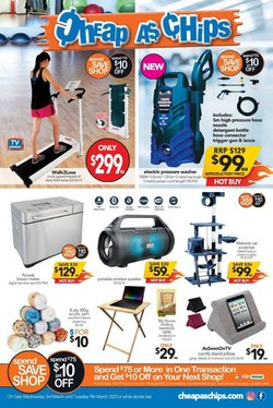 Cheap as Chips catalogue ( 1 day ago )