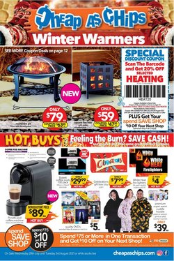 Cheap as Chips specials in the Cheap as Chips catalogue ( 4 days left)