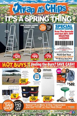 Cheap as Chips catalogue ( 2 days left)