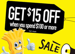Offers from Cheap as Chips in the Adelaide SA catalogue