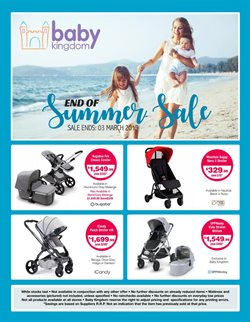 Kids, Toys & Babies offers in the Baby Kingdom catalogue in Sydney NSW