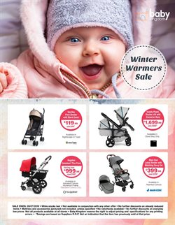 Offers from Baby Kingdom in the Sydney NSW catalogue