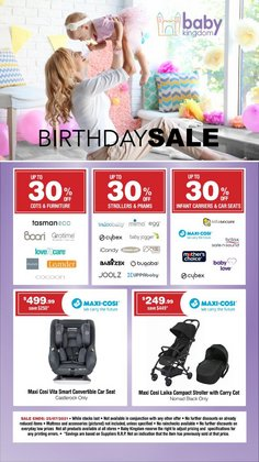 Kids, Toys & Babies specials in the Baby Kingdom catalogue ( Expires today)