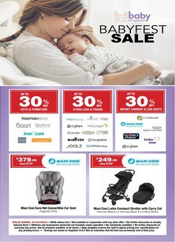 Kids, Toys & Babies specials in the Baby Kingdom catalogue ( 11 days left)
