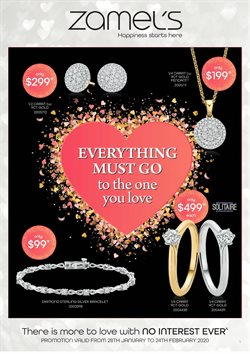 Zamel's Jewellery catalogue in Adelaide SA ( 3 days left )