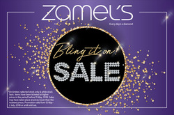 Sales offers in the Zamel's Jewellery catalogue in Sydney NSW