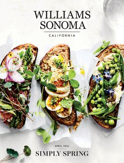 Easter specials in the Williams-Sonoma catalogue ( 18 days left)
