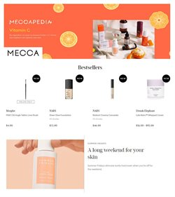 Offers from Mecca in the Adelaide SA catalogue