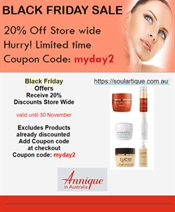 Annique catalogue ( Expires today )