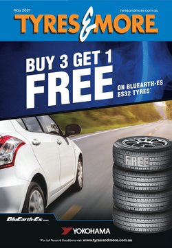 Tyres & More specials in the Tyres & More catalogue ( Expired)