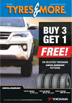 Tyres & More specials in the Tyres & More catalogue ( Expires tomorrow)