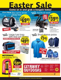 Offers from Getaway Outdoors in the Perth WA catalogue