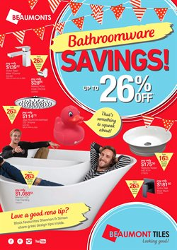 Garden, Tools & Hardware offers in the Beaumont Tiles catalogue in Yeppoon QLD