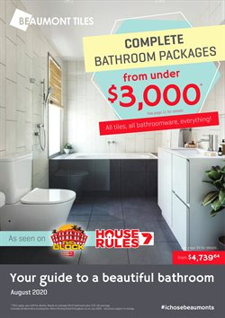 DIY & Garden offers in the Beaumont Tiles catalogue in Whyalla SA ( 3 days ago )
