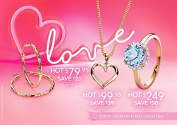 Valentine's Day offers in the Leading Edge Jewellers catalogue in Sydney NSW