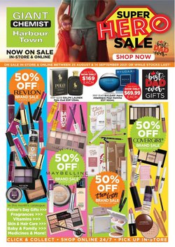 Giant Chemist specials in the Giant Chemist catalogue ( Expires today)