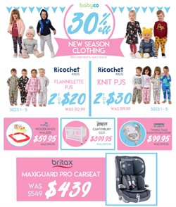 Offers from BabyCo in the Melbourne VIC catalogue