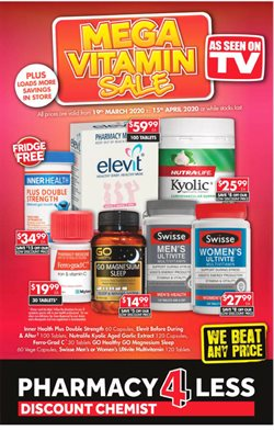 Pharmacy4Less catalogue ( 10 days left )