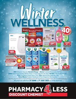Pharmacy4Less specials in the Pharmacy4Less catalogue ( 18 days left)
