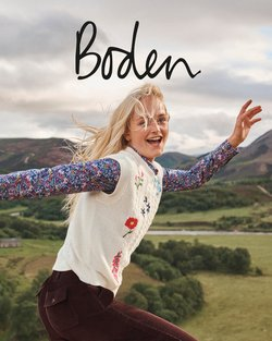 Boden specials in the Boden catalogue ( More than one month)