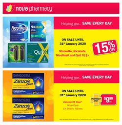 Offers from Nova Pharmacy in the Melbourne VIC catalogue