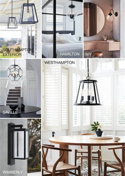 Homeware & Furniture offers in the Beacon Lighting catalogue ( More than one month )