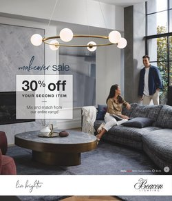 Beacon Lighting specials in the Beacon Lighting catalogue ( 21 days left)